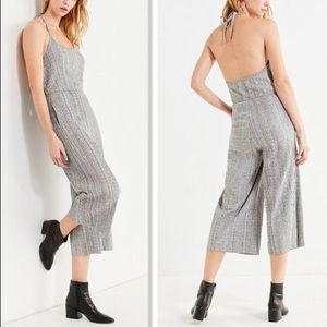 NWOT Urban Outfitters Wide Leg Jumpsuit Gray